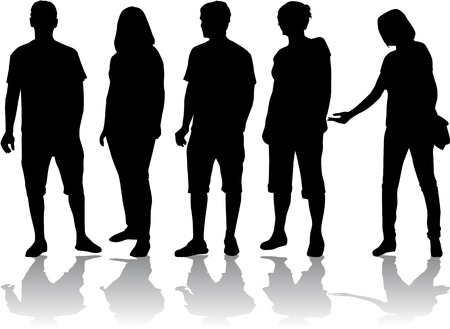 Group of people  Ilustração