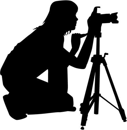 Fotógrafos  Foto de archivo - 26134670