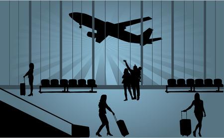 공항 일러스트