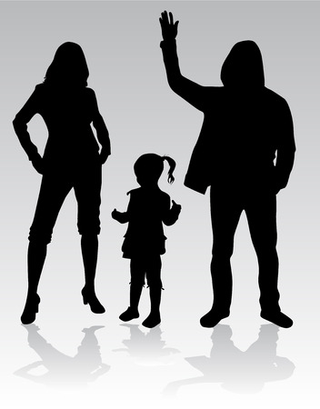 foster: Family Silhouettes