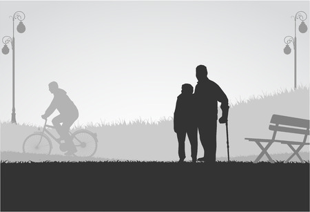 lame: People silhouettes