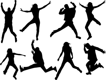 jump: Jumping Silhouettes