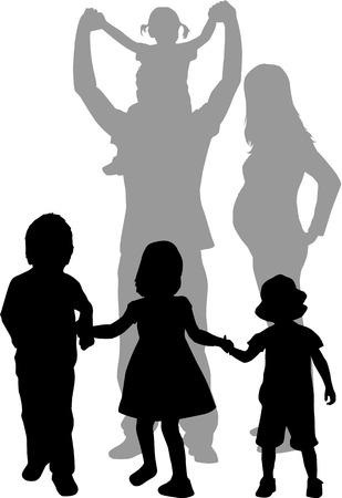 famiglia numerosa: Grande famiglia