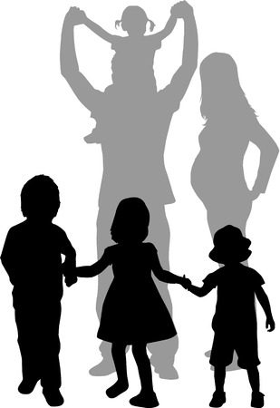 large family: Large family
