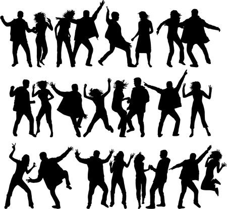 danza: Siluetas de baile