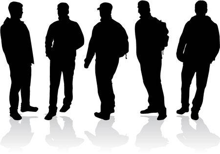 남성 그룹