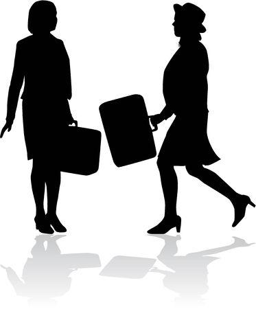 businesswomen: businesswomen