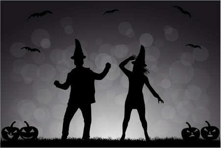 Party - Halloween Vector