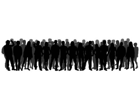 Group of people Illustration