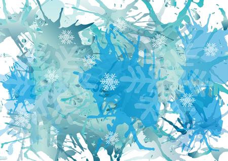 blots: vector blots background Illustration