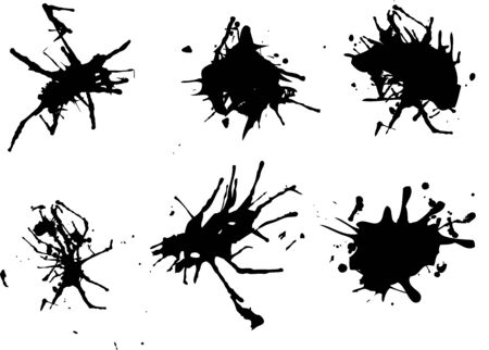 vector blots background Vector