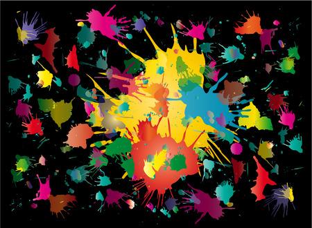 vector blots background Illustration