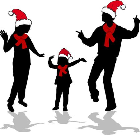 female christmas: Christmas Family