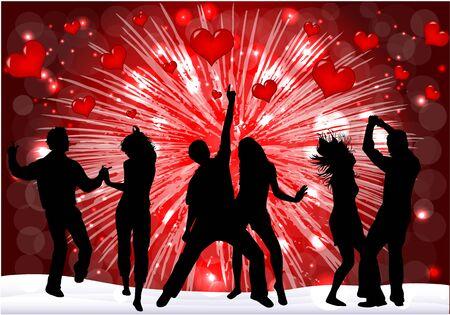 disco dancer: Valentines Day Event