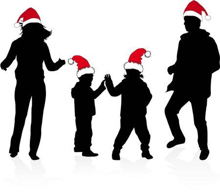 son of man: Christmas Family.
