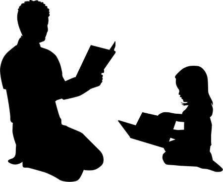 literary man: Book reading .
