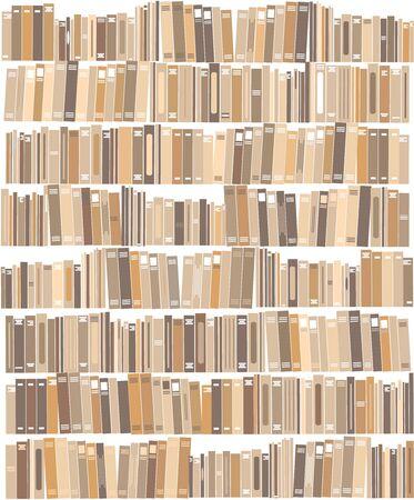 Books - vector illustration. 向量圖像