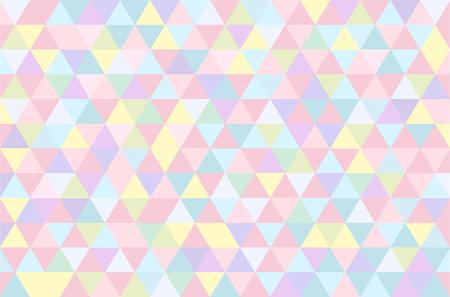 Colorful geometric background. Illustration