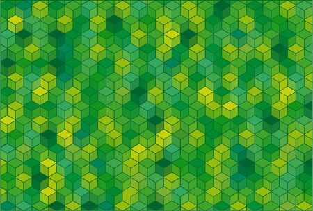 Abstract background with cubes. Иллюстрация