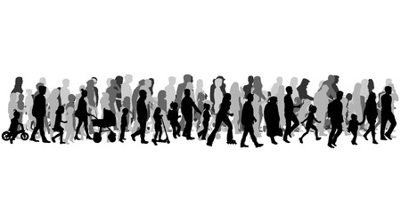 55,197 Crowd Of People Cliparts, Stock Vector And Royalty Free ...