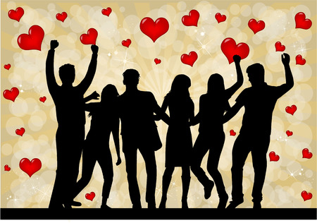 valentine day: Valentines Day Event . Abstract background.