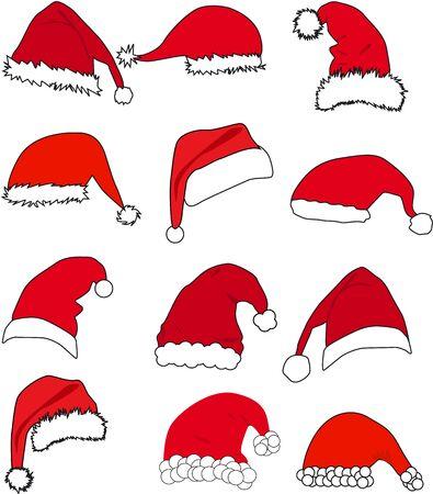 hat santa: Santa Claus Hat .