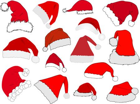 Santa Claus Hat vector illustration