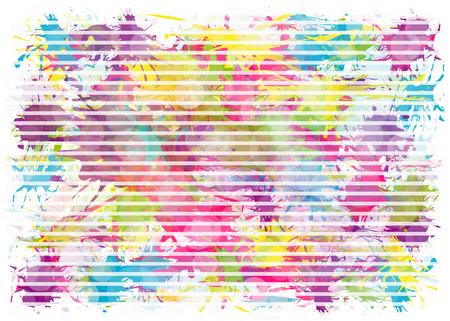 Vector blots background.