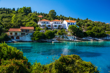 kefalonia: Fiscardo, Kefalonia Stock Photo