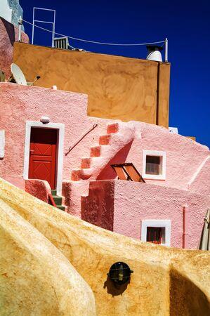 santorini greece: Brifgtfull Santorini, Greece Stock Photo