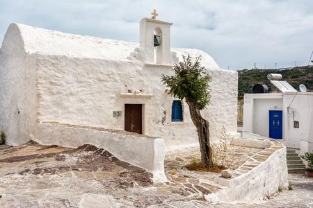 kyklades: Old Church on Kimolos island