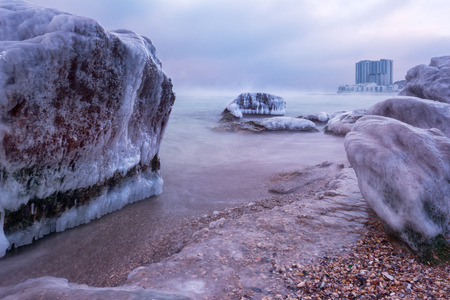 winter black sea -  Odessa, Ukraine