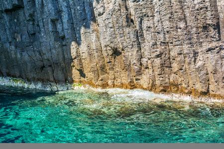 islets: The Glaronissia islets, Milos island, Cyclades, Greece Stock Photo