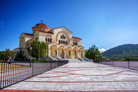 Saint Gerasimos church at Kefalonia island, Greece
