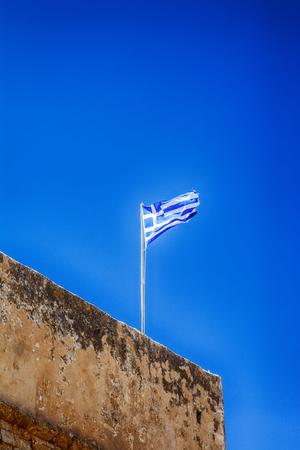 The Venetian Fortezza on Crete island