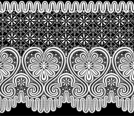 sacred heart: lace elements