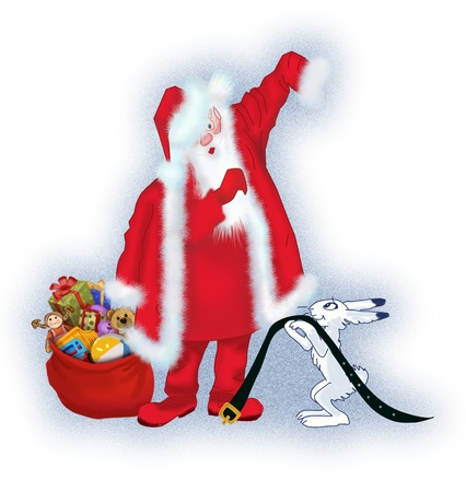 Santa Claus is preparing for the holiday Stock Photo - 17337485