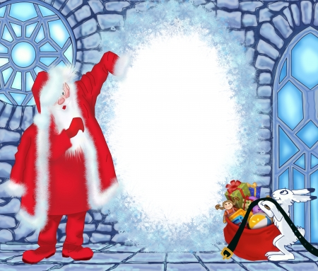 Santa Claus at the Ice House photo