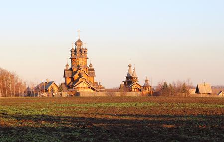 Svyatogorsky monastery located in the country of Ukraine Stock Photo
