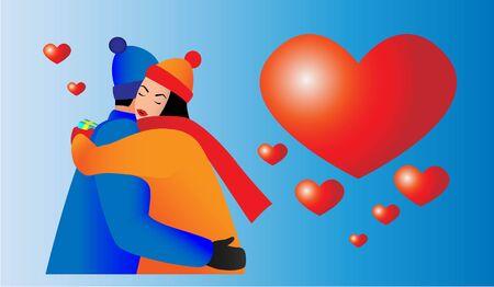 valentines day, boyfriend and girlfriend in love