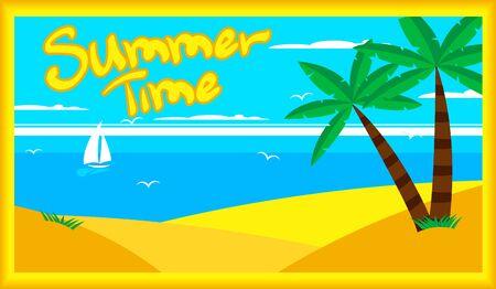 summer time, summer vacation