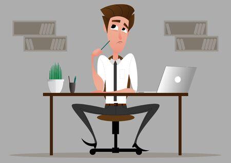 Business cartoon character