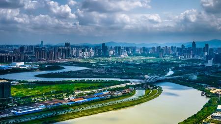 china landscape: Ningbo cityscape