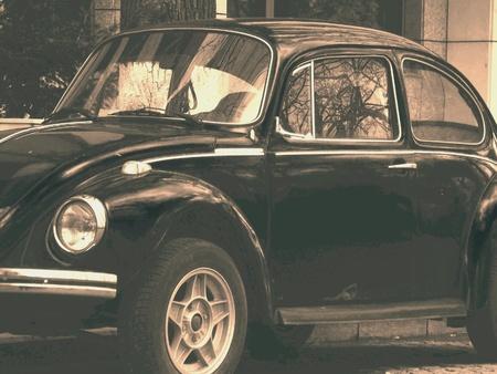 chrome: Retro automobile german Stock Photo
