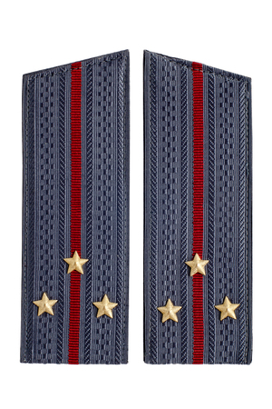 soviet union: Police uniform since the Soviet Union Stock Photo