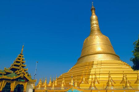 Shwemawdaw pagoda  Bago  Myanmar  photo