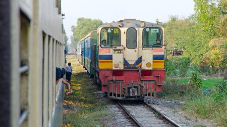 weald: Myanmar train
