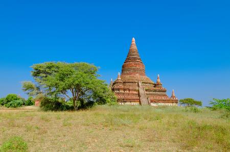 weald: Stupas and pagodas of Bagan ancient  Myanmar