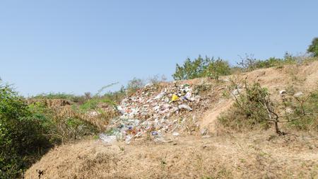 Myanmar trash 版權商用圖片 - 101698075