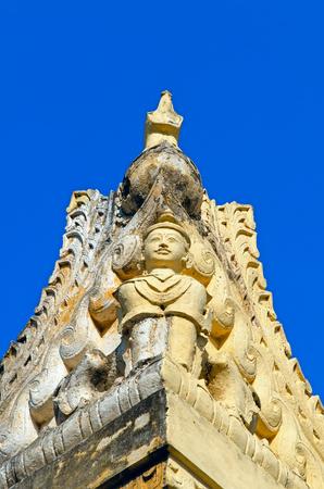 Maha Aungmye Bonzan Monastery. Inwa (Ava). Myanmar